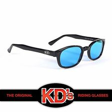 KD's Black Frame Turquoise Lenses Sunglasses Worn By Jax Teller Sons of Anarchy