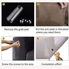 2Pc Pet Cat Scratch Guard Mat Cats Scratching Post Furniture Sofa Claw Protec E