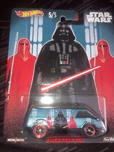 2019 Hot Wheels Star Wars Pop Culture Series #5/5 Dream Van XGW Imperial Forces