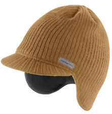 Carhartt Knit Visor Hat Brown Ribbed Fleece | Outdoors & Fishing 100% Authentic