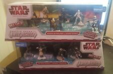 Lot of Two Star Wars Clone Wars Battle Packs Unleashed Walmart Exclusive Figures