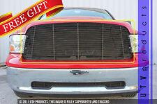 GTG 2009 - 2012 Dodge Ram 1500 1PC Gloss Black Upper Replacement Billet Grille