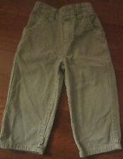 Boy Size 24 Month Tan Corduroy Cherokee Pants