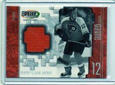 SIMON GAGNE Flyers 2001/02 UD Play Makers Player's Club Jersey Card