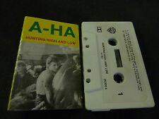 A HA HUNTING HIGH AND LOW RARE NEW ZEALAND CASSETTE TAPE!