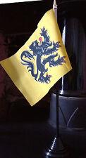 Flemish Flanders Desk Flag Belgium Belgian Cycling Nationalist Regionalist bn