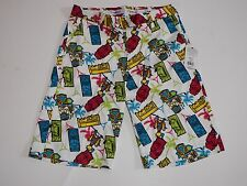 Golf Shorts Size 30 Flow Golf White Tiki Multi Color