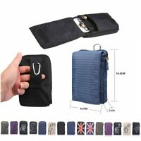 Sports Wallet Mobile Phone Cell Bag Holder Hook Loop Belt Pouch Holster British
