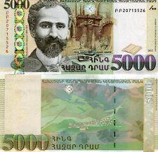 ARMENIA 5000 DRAM 2012 P-56b UNC