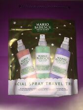 Mario Badescu Facial Spray Travel Trio With Pouch Set