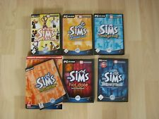 Die Sims - Delux + 7 Add-Ons + Handbuch UNBEDINGT ANSEHEN!!!