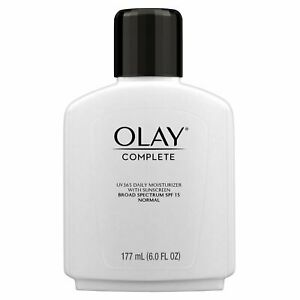 Olay Complete All Day UV Moisturizer SPF 15 - Normal Skin - 6 Oz (Pack of 6)