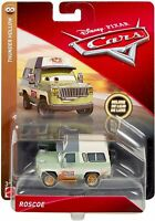 DISNEY Pixar Cars Roscoe Thunder Hollow Deluxe Die-cast Vehicle NEW IN PACKAGE