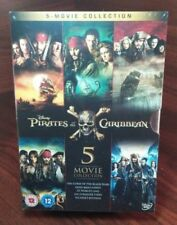 Pirates of the Caribbean 5-Movie Set(DVD)REGION 2(UK)READ DESCRIPTION-Free S&H