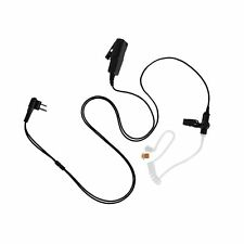 Dual Wire Police Security Style Headphone PTT Mic for Feidaxin FDC-460A FD-150A
