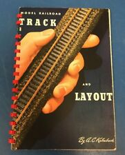 Vintage 1950 Model Railroad Track and Layout by Kalmbach Train Book
