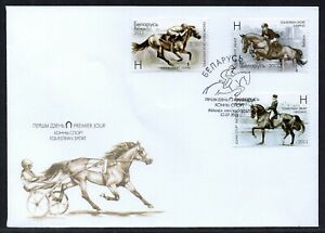 Belarus 2011 First Day Cover - Horses