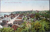 Stillwater, MN 1910 Postcard: Birdseye View - Minnesota Minn