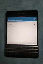 Blackberry Passport 32GB Black (AT&T) SQW100-3 4G, used and in greet condition.