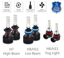 For Ford Fusion 2006-2017 6x Combo H7 H11 H8 LED Headlight Fog Light White Bulbs