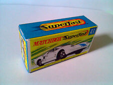 Boîte copie repro MATCHBOX Superfast N° 41 ford GT 40 ( reproduction box vide )