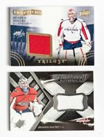 2018-19 UD SPX Hockey Extravagant Materials Braden Holtby Jersey CARD LOT OF 2