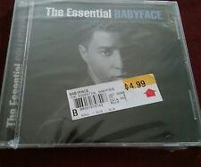 NEW CD BABYFACE (KENNETH BRIAN EDMONDS) - THE ESSENTIAL BABYFACE