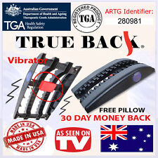 True Back Trueback australia pain relief traction device, New Vibrating Model!!