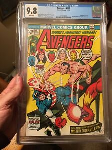 Avengers #117 CGC 9.8 White Pages! Hard to Find In This Grade! Vs. Defenders!