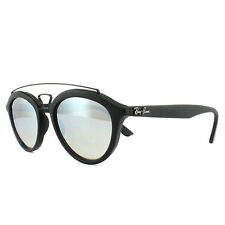 Ray-Ban Sunglasses New Gatsby 4257 6253B8 Black Silver Brown Mirror 50mm