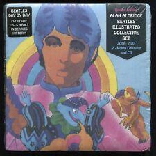Alan Aldridge Beatles Illustrated Collective Set 2014-2015 18-Month Calendar CD