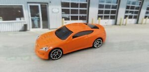 2013 Hot Wheels HYUNDAI GENESIS COUPE - Multipack Exclusive - Orange JDM Car