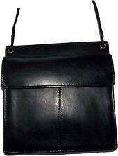 New Leather passport case wallet credit Card case ID Holder shoulder bag bnwt