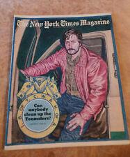 New York Times Magazine Teamsters Union; Harlem & the Apollo; Italia Nov 1976 NF