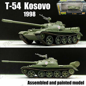 Russia T-54 Tank Kosovo war 1998 1/72 finished no Diecast Easy Model