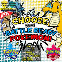 Pokemon Sword and Shield ⚔️ CHOOSE 'ANY 20' SHINY BATTLE READY POKEMON | 6IV 🛡️