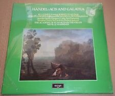 Marriner/Gomez/Tear/Langridge HANDEL Acis and Galatea - Argo ZRG 886-7 SEALED