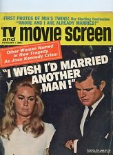 TV and Movie Screen Aug 1970  Ted and Joan Kennedy, Dean Martin See My Store