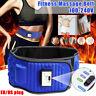 Electric Fitness Belt Waist Trainer Body Shaper Slimmer Sweat Tummy Control
