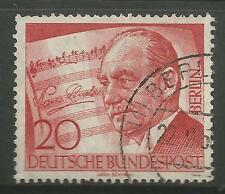 Germania-BERLIN. 1956. P. lincke (Compositore) commemorative. SG: B152. usata bene.
