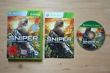 Xb360-Sniper: Ghost Warrior - (OVP, con instrucciones)