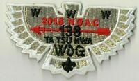 Boy Scout OA 138 Ta Tsu Hwa Lodge 2018 NOAC Gold Bird Mini Flap
