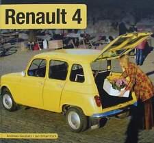 BOEK/LIVRE : RENAULT 4 (R4,R 4 oldtimer, voiture de collection)