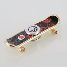 2 in 1 Skateboard Fidget Toy Hand Spinner Finger Fingertip Skaters Gyro Desk Toy