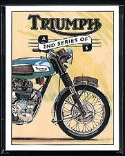 TRIUMPH 2 SERIE - Original Tarjetas Coleccionistas - Bonneville Tiger T-Bird