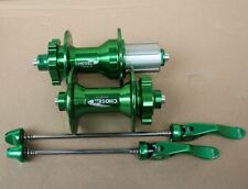 CHOSEN Mountain Bike 4 Bearings Hub 32H disc brake Hubs w QR Skewer Front rear