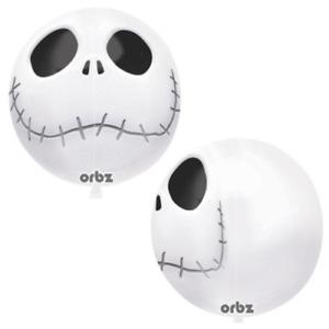 "Orbz XL ~ JACK SKELLINGTON 15"" Balloon HALLOWEEN Nightmare Before Christmas"