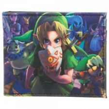 Official Nintendo ~THE LEGEND OF ZELDA MEN'S WALLET~ Link Majora's Mask 3D Game