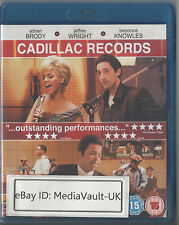 CADILLAC RECORDS BLU RAY -  GREAT CONDITION - UK RELEASE - BEYONCE BRODY WRIGHT