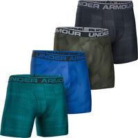 """* SALE * Under Armour Mens 6"""" Original Printed Boxerjock Briefs Sports Underwear"""